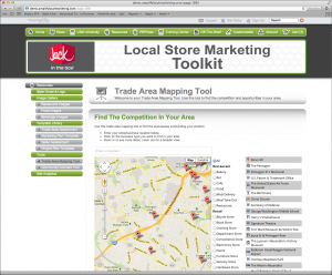 Local Store Marketing Trade Area Mapping Tools