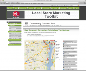 Local Store Marketing Community Connection Tools